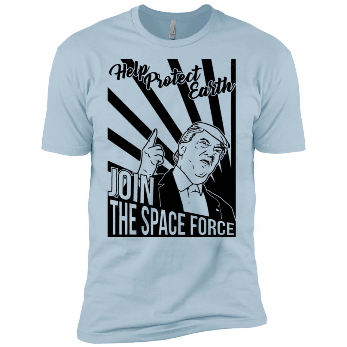 Help Protect Earth Join The Space Force Men's Classic Tee