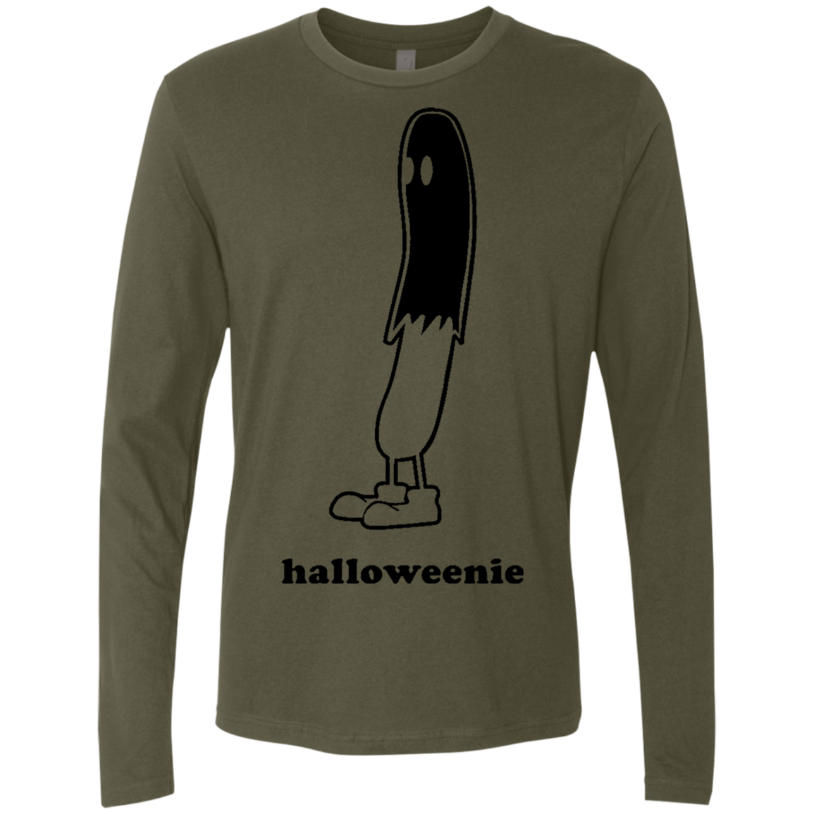 Halloweenie Men's Long Sleeve Tee