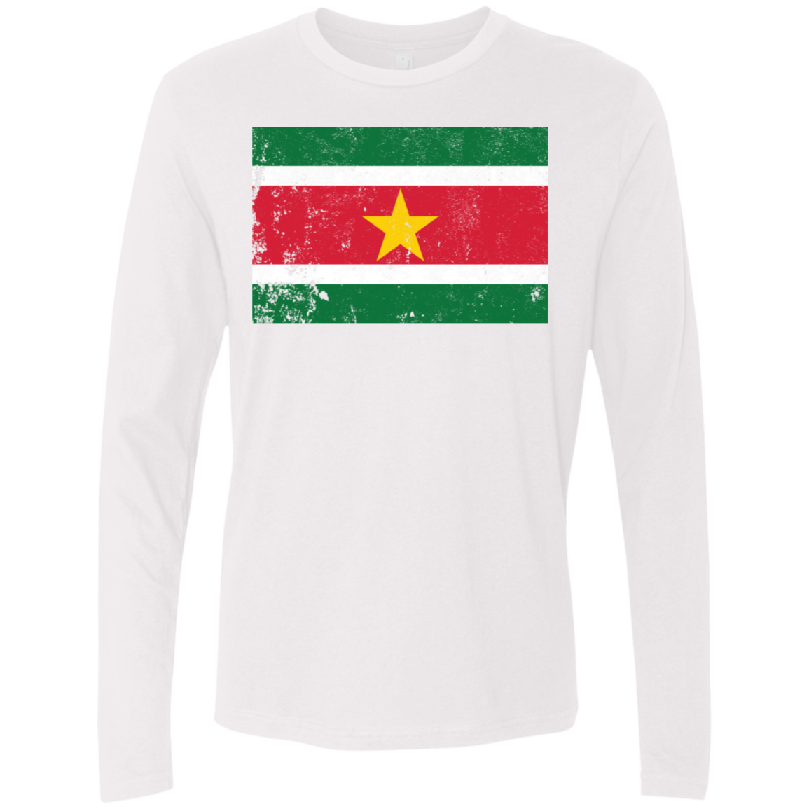 Suriname Men's Long Sleeve Tee