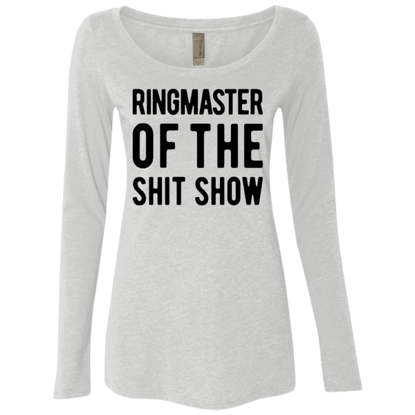 Ringmaster Of The Shit Story Women's Long Sleeve Tee