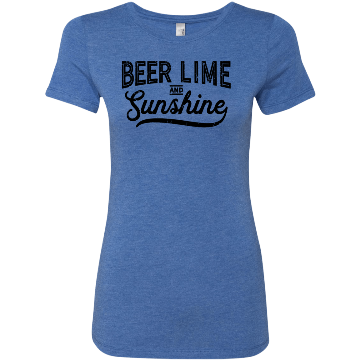 Beer Lime and Sunshine Women's Classic Tee - Trendy Tees