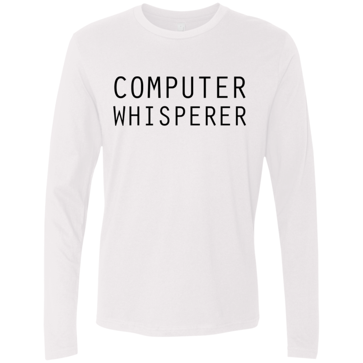 Computer Whisperer Men's Long Sleeve Tee