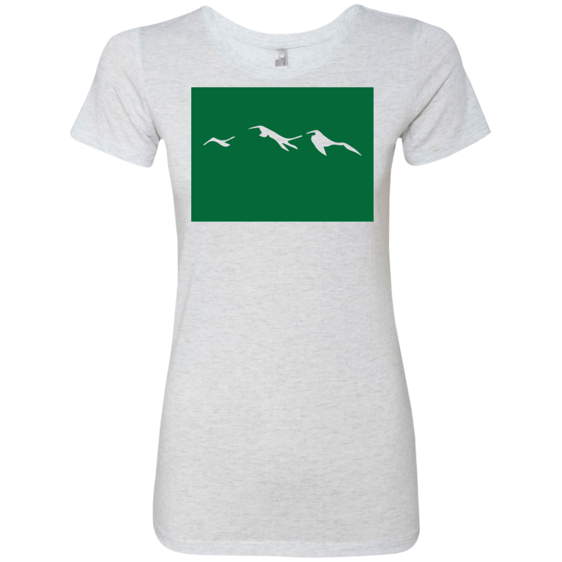 Colorodo Mountains Green Women's Classic Tee