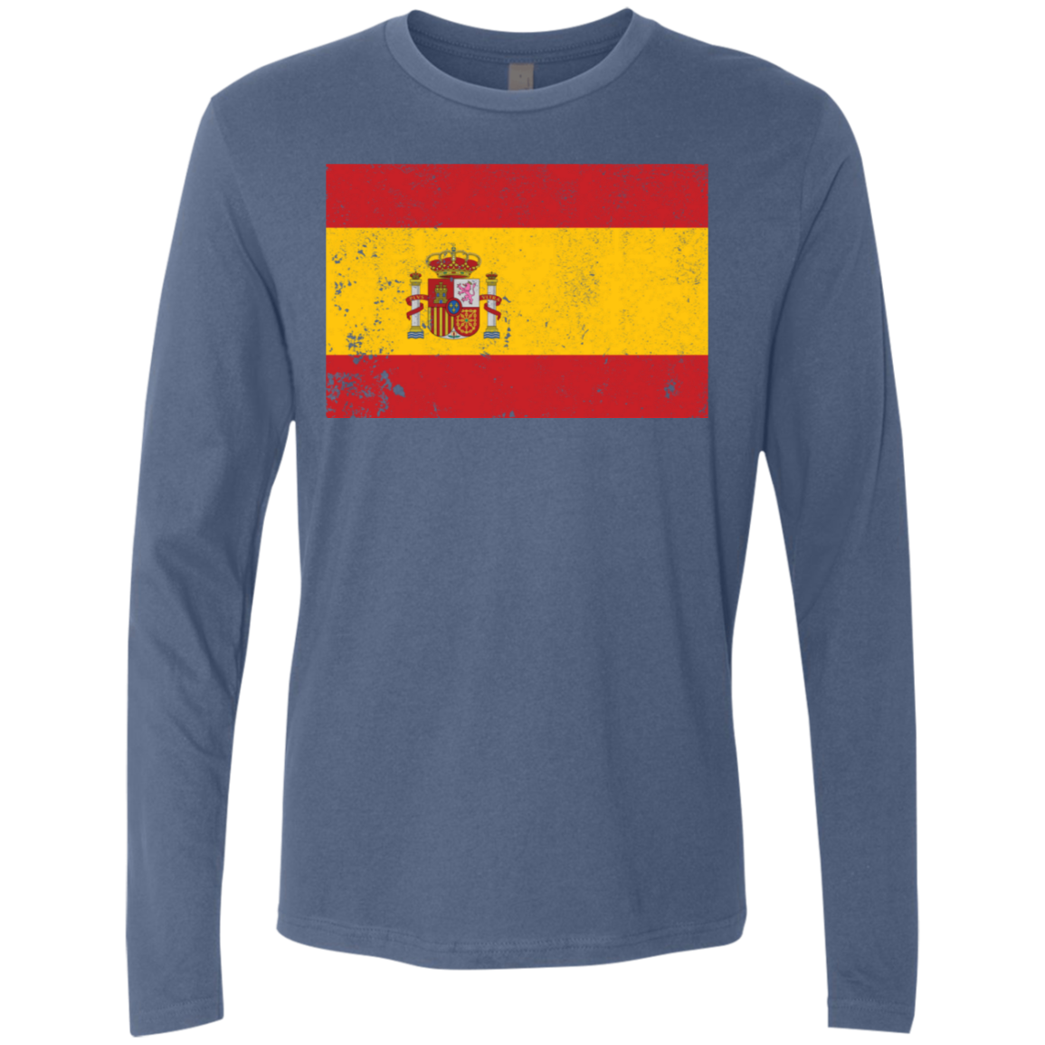 Spain Men's Long Sleeve Tee