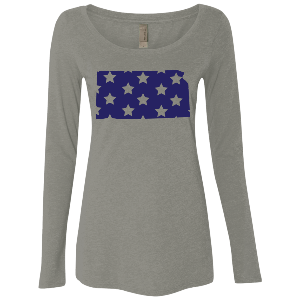 Kansas Stars Women's Long Sleeve Tee