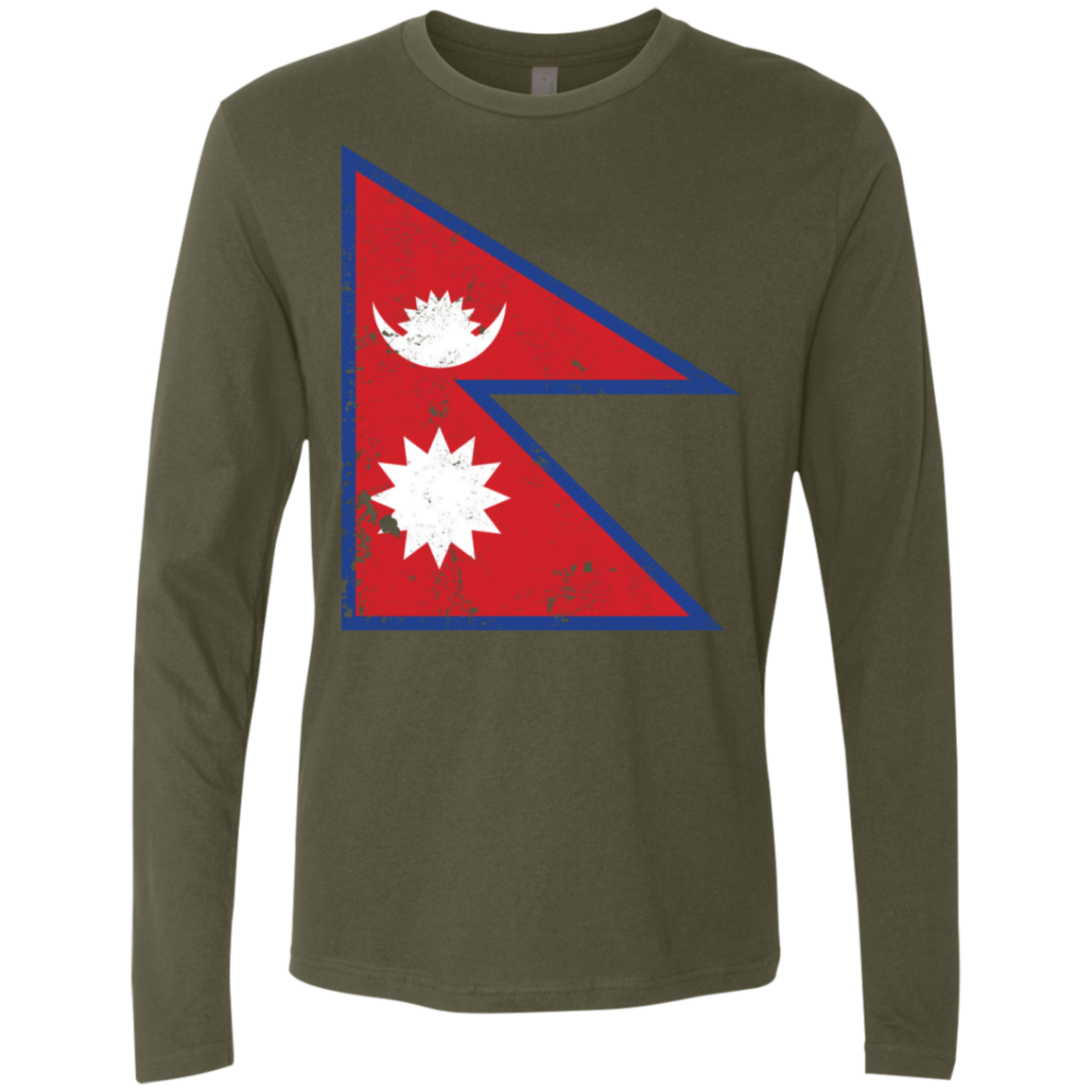 Nepal Men's Long Sleeve Tee