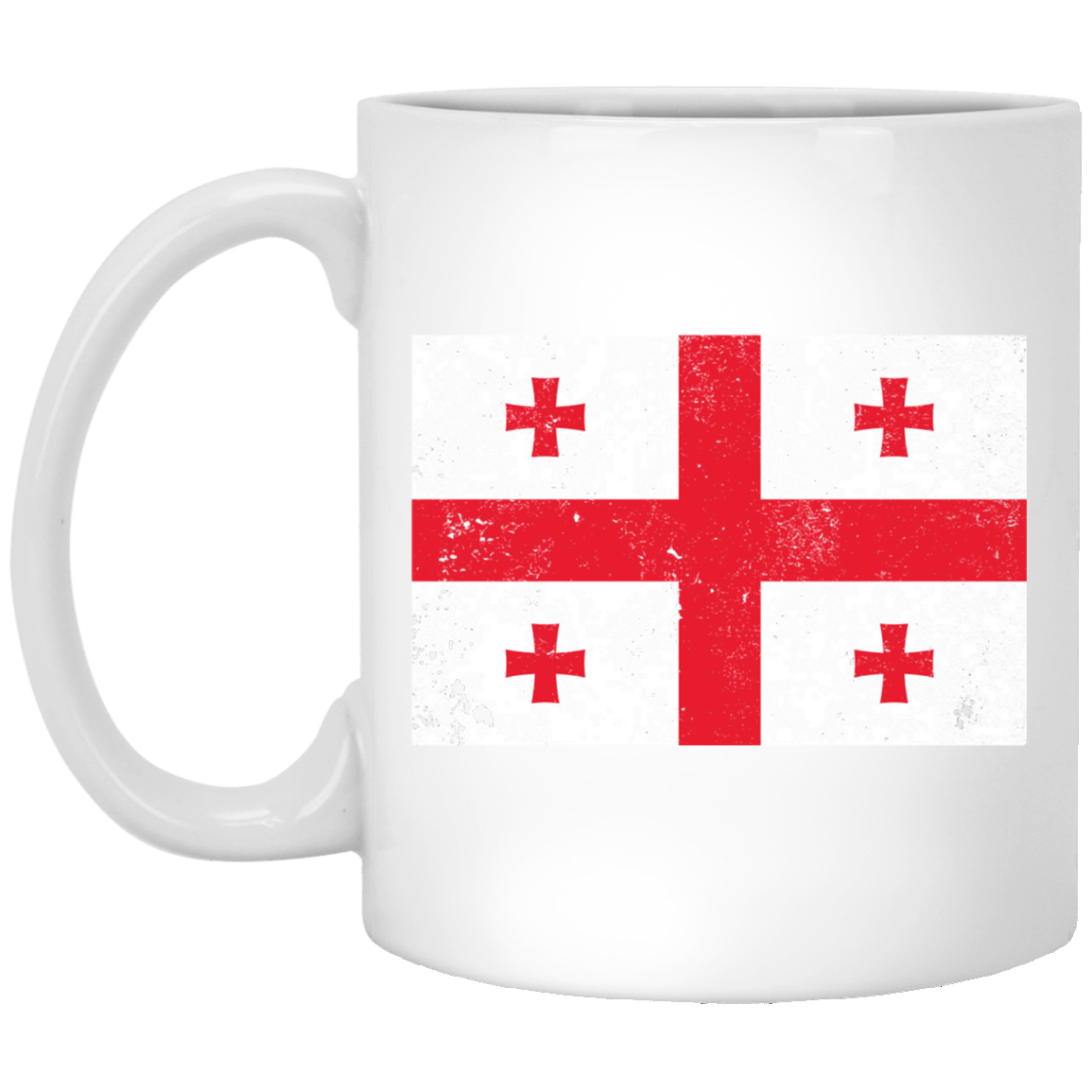 Georgia 11 oz. White Coffee Mug