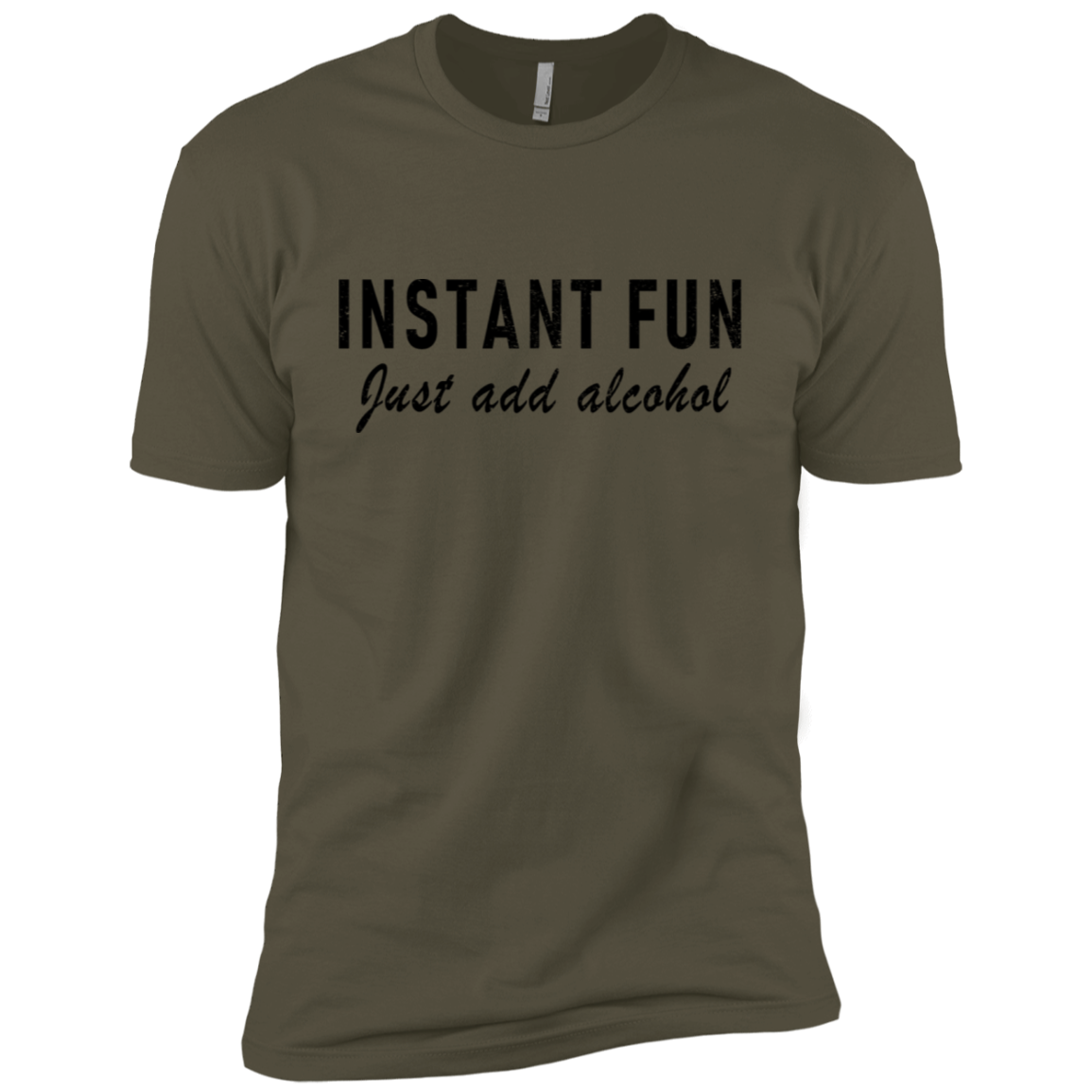 Instant Fun Just Add Alcohol Men's Classic Tee