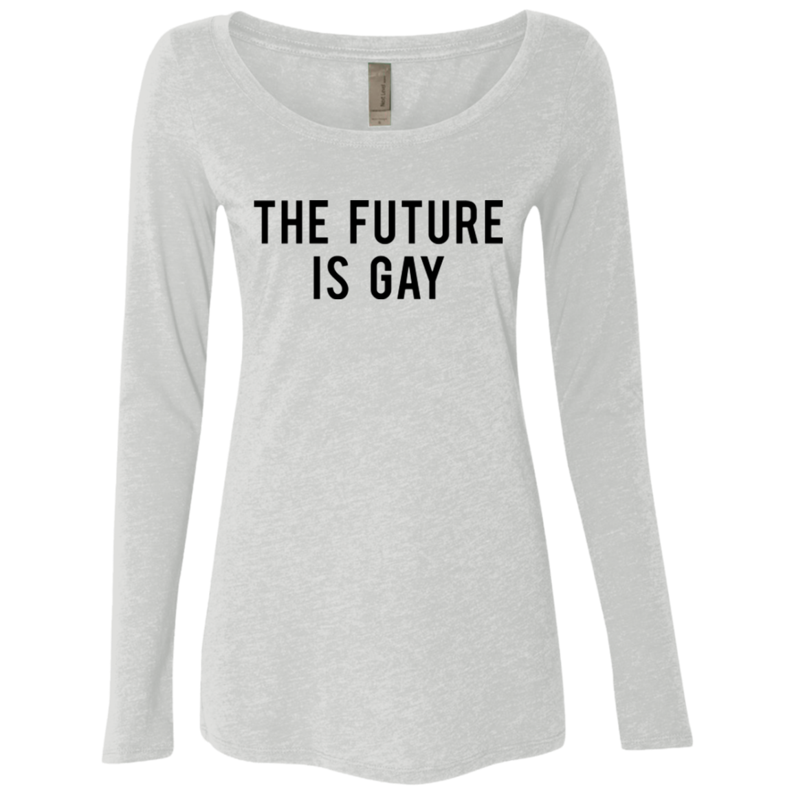 The Future is Gay Women's Long Sleeve Tee