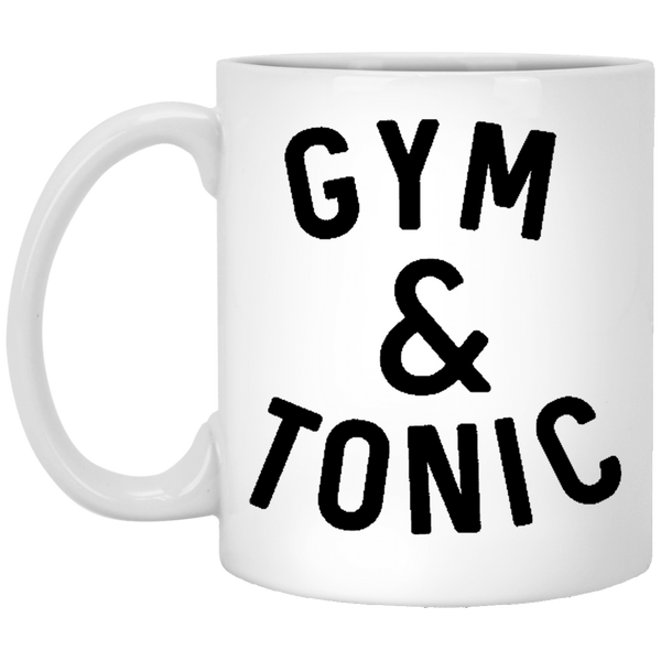 Gym and Tonic 11 oz. White Coffee Mug