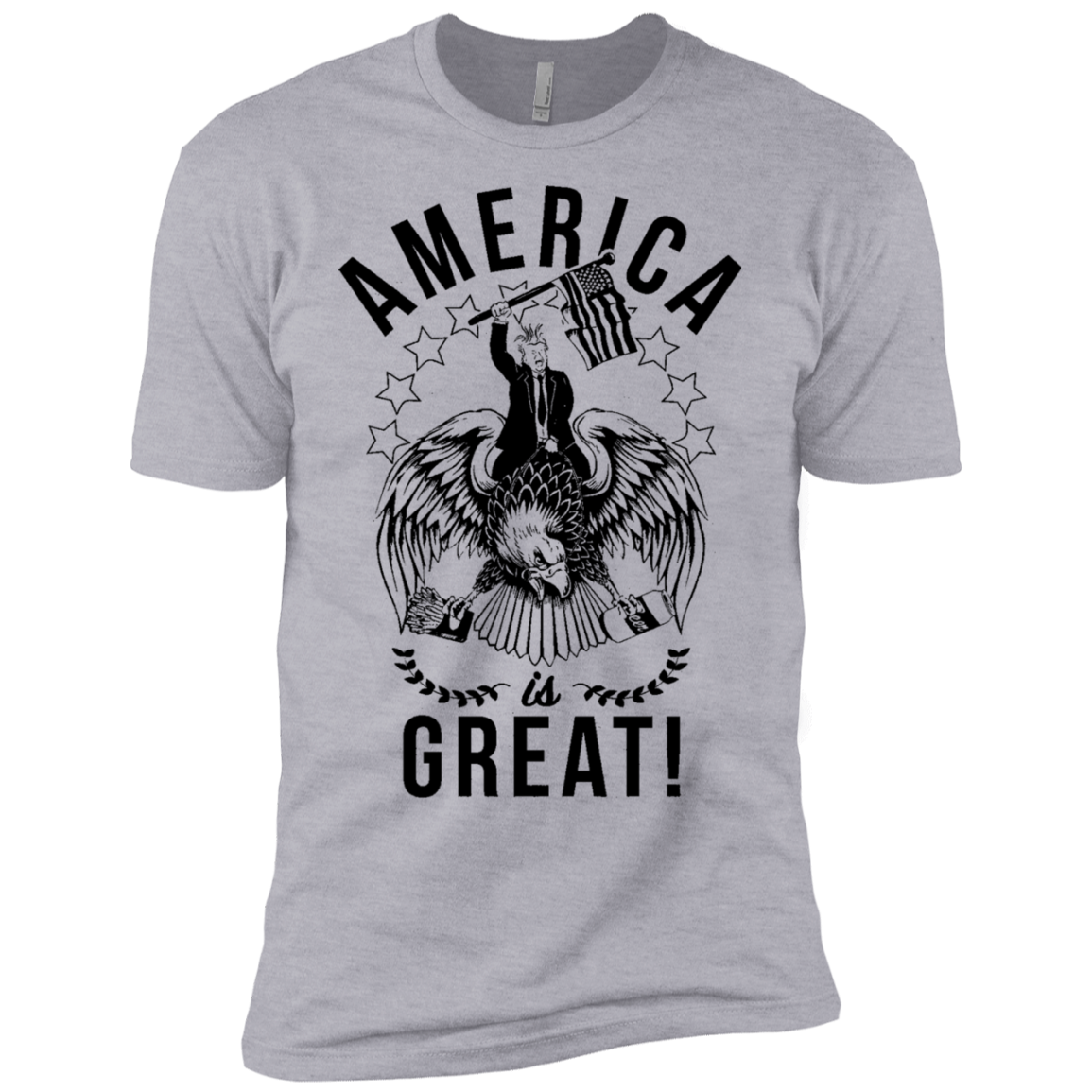 America is Great Trump Riding Eagle Men's Classic Tee