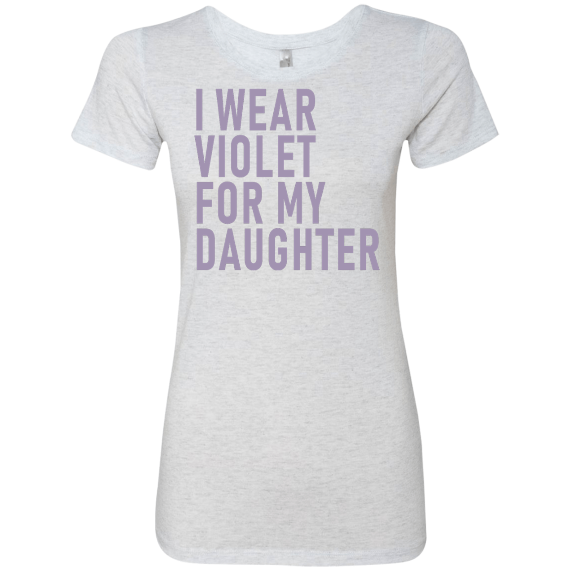 I Wear Violet For My Daughter Women's Classic Tee