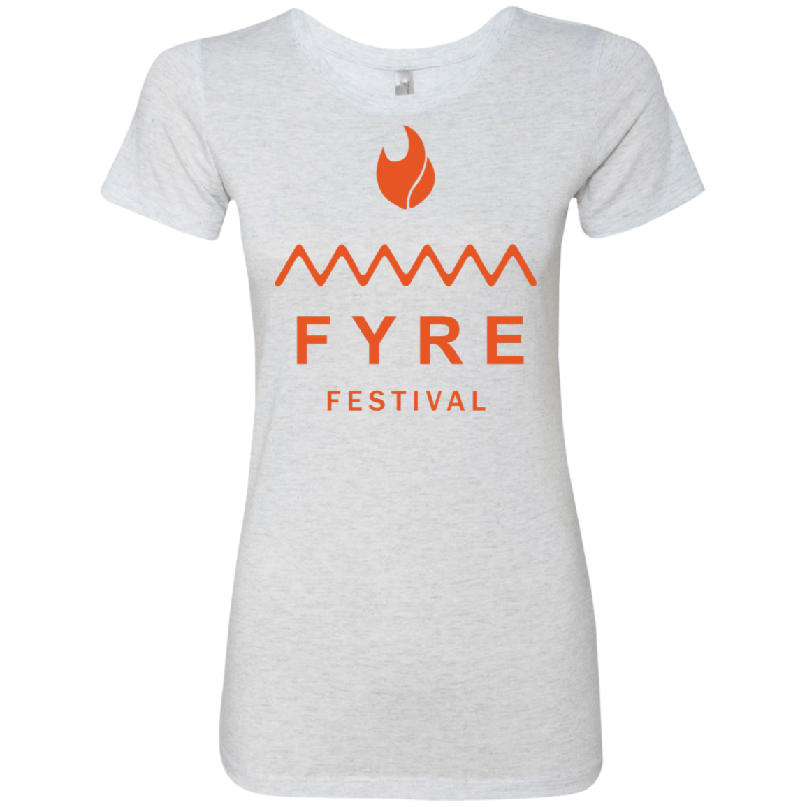 Fyre Festival was Lit Orange Women's Classic Tee