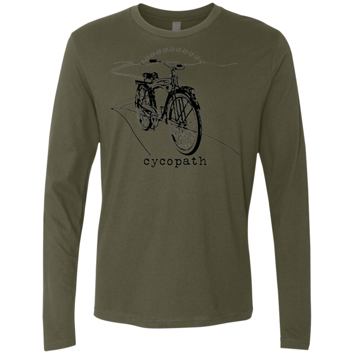 Cycopath Men's Long Sleeve Tee - Trendy Tees