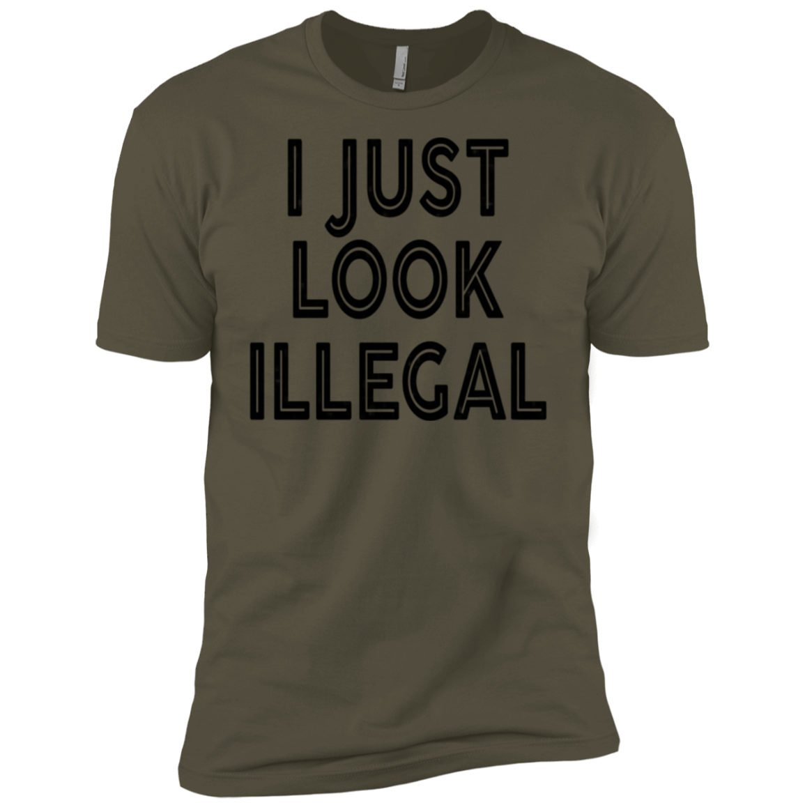 I Just Look Illegal Men's Classic Tee