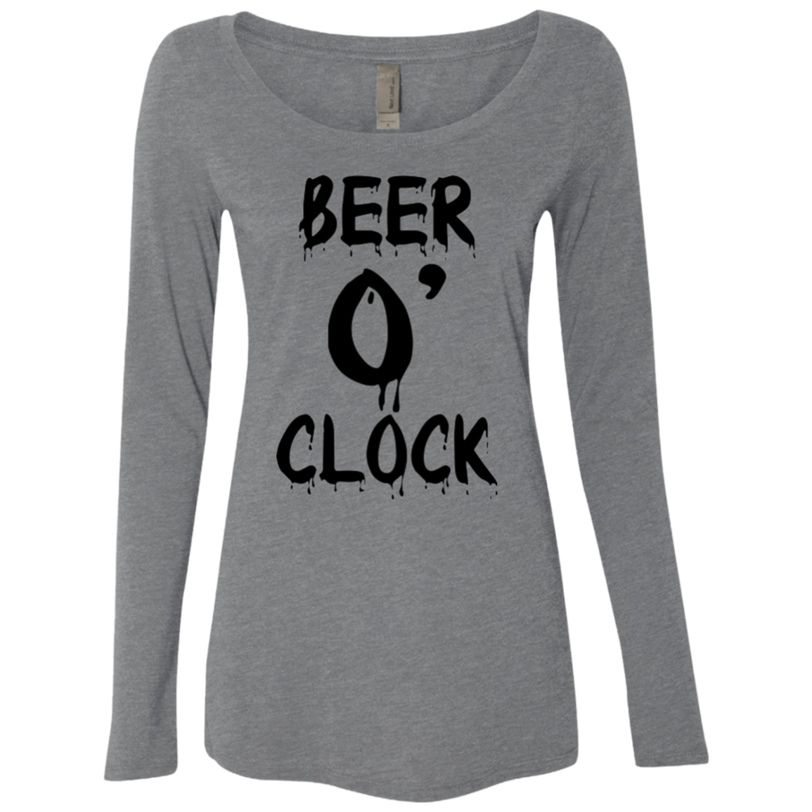 It's Beer o Clock Women's Long Sleeve Tee - Trendy Tees