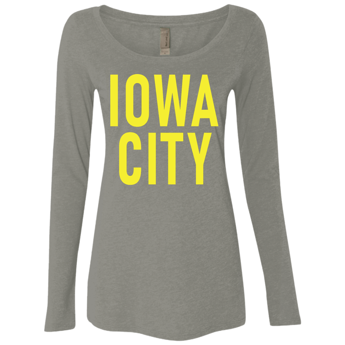Iowa City Women's Long Sleeve Tee