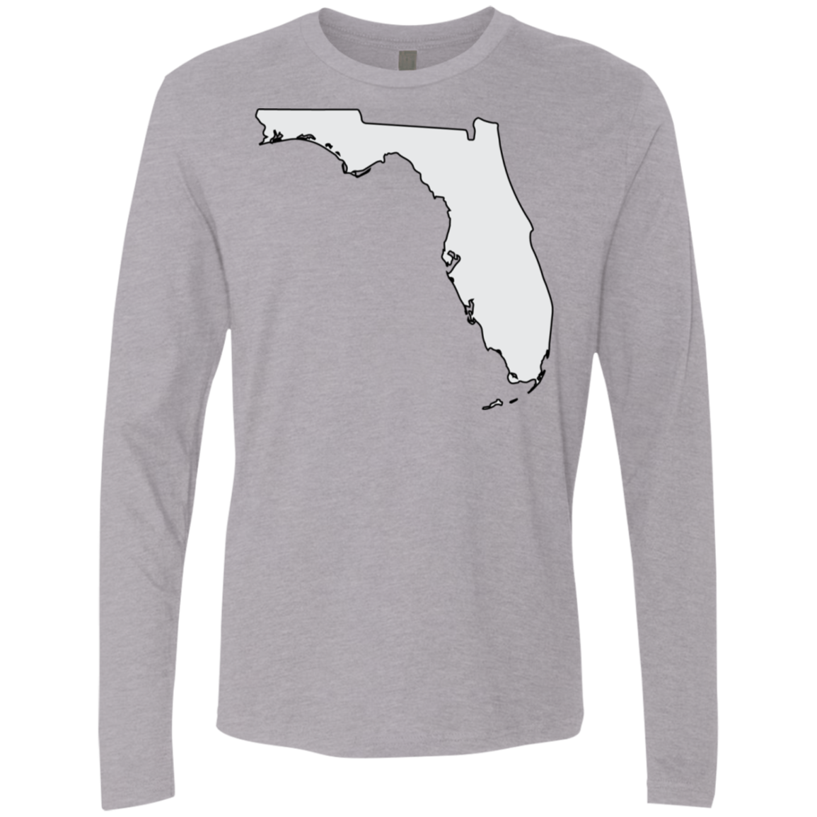Florida Grey Men's Long Sleeve Tee