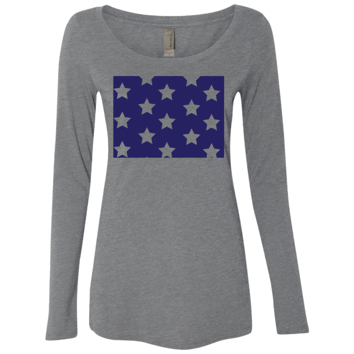 Colorodo Stars Women's Long Sleeve Tee
