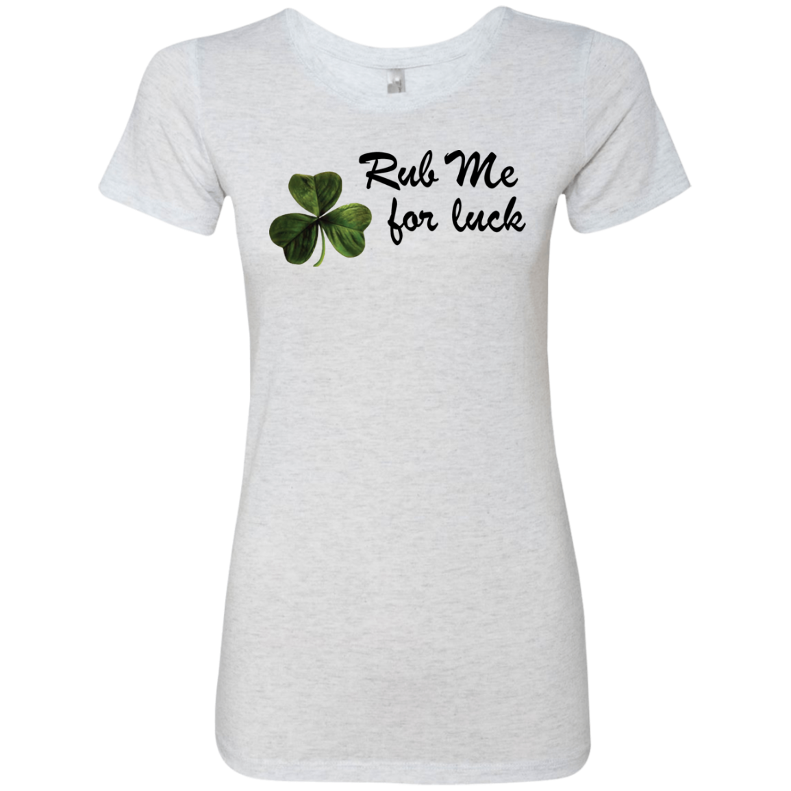 Rub Me For Luck Women's Classic Tee