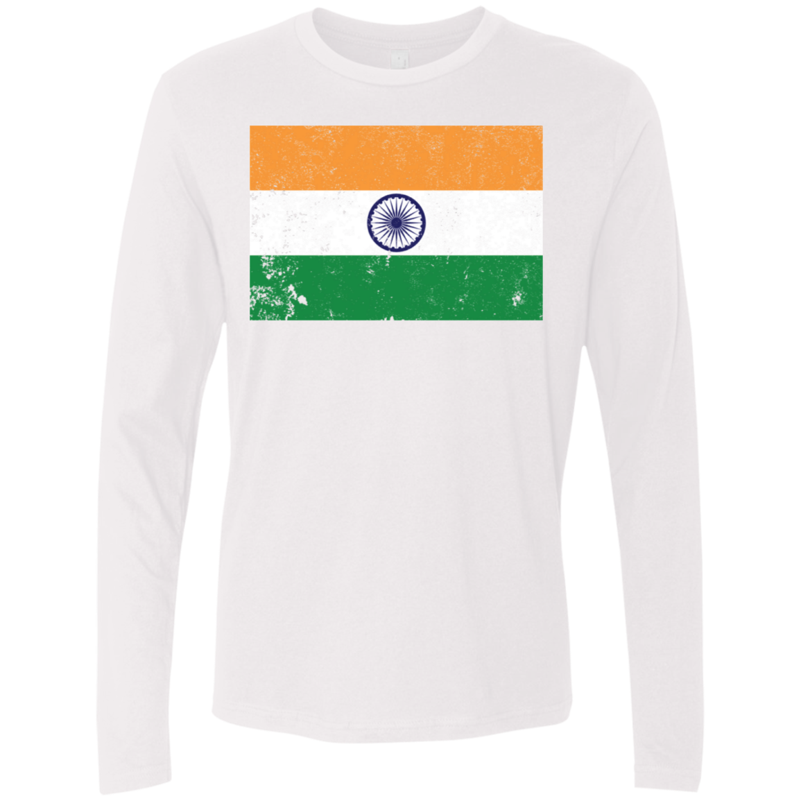 India Men's Long Sleeve Tee