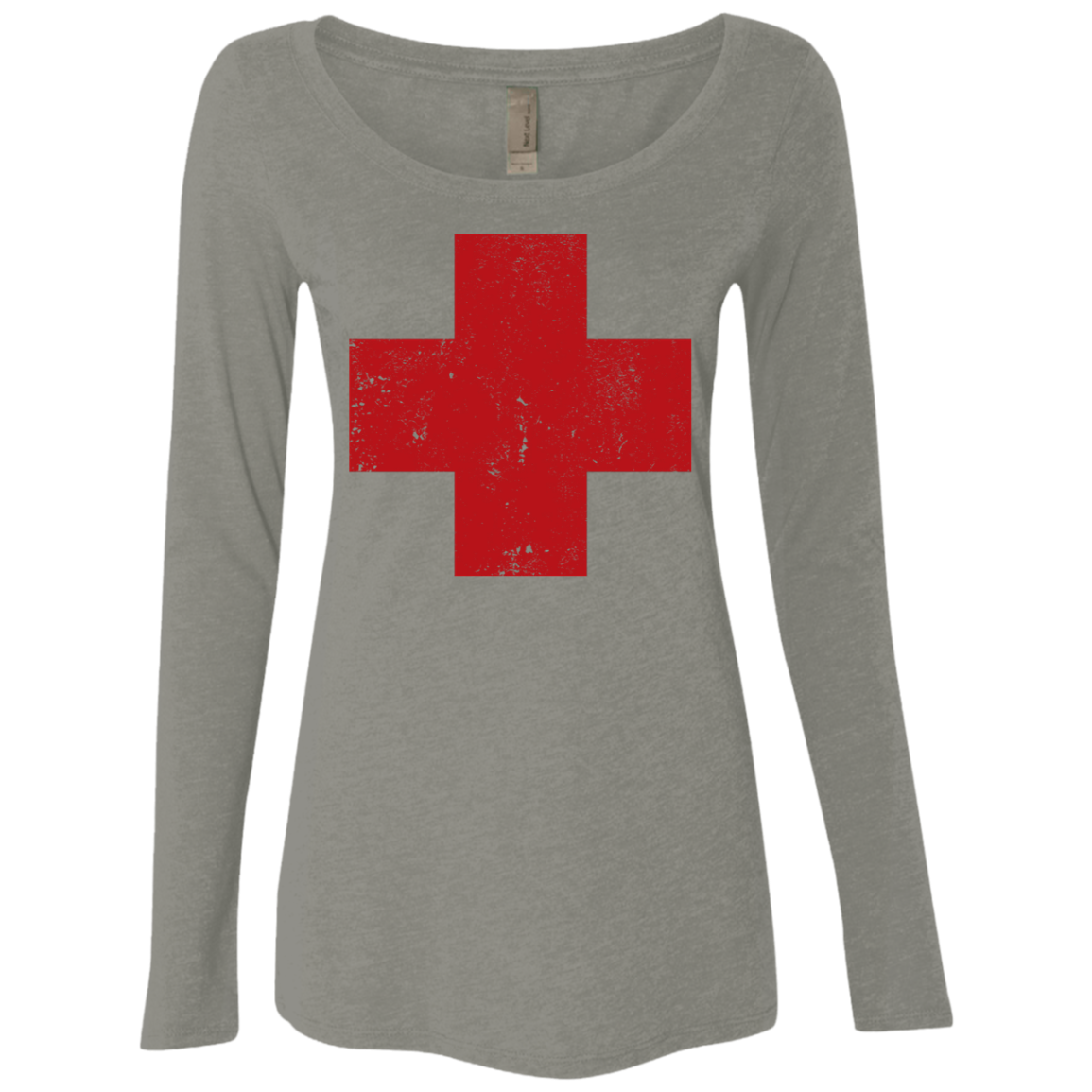 Red Cross Women's Long Sleeve Tee