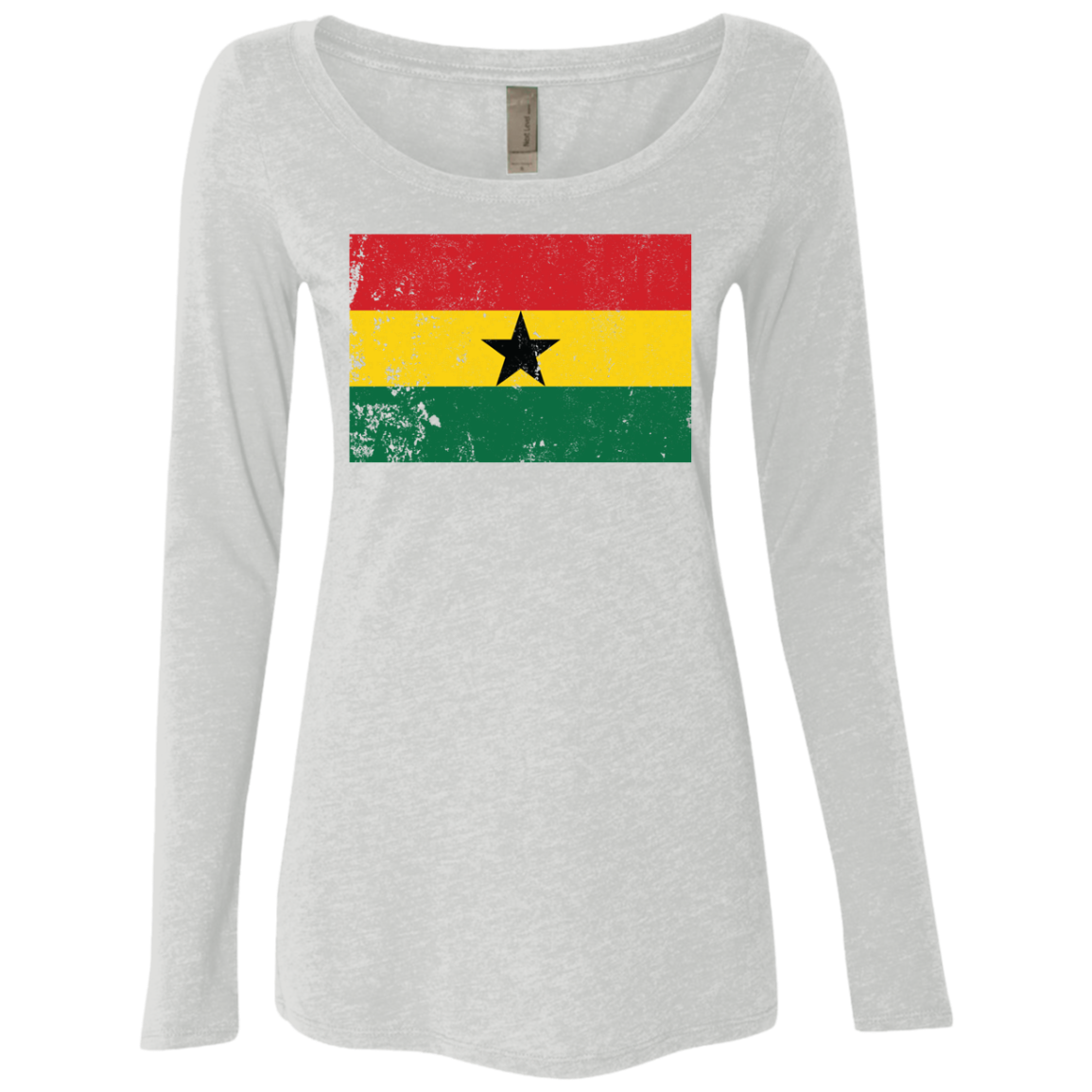 Ghana Women's Long Sleeve Tee