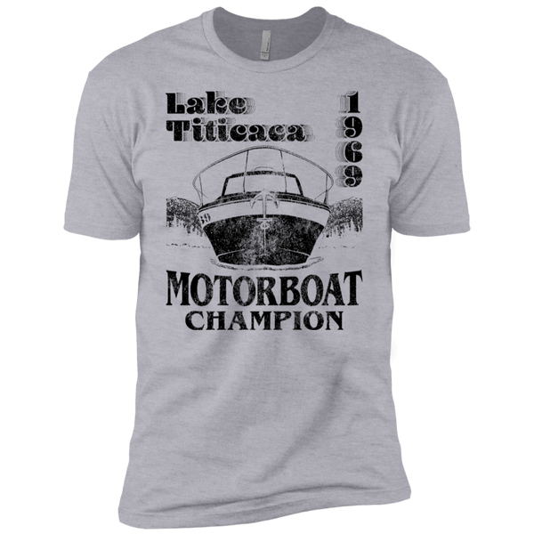 Lake Titicaca Motorboat Champion Men's Classic Tee