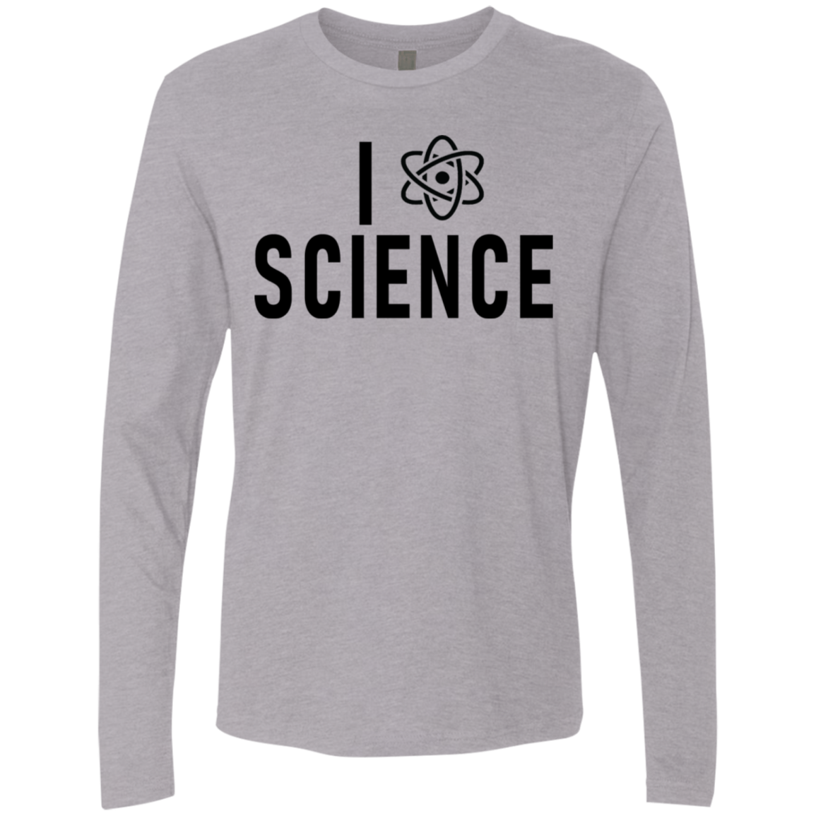 I Love Science Men's Long Sleeve Tee