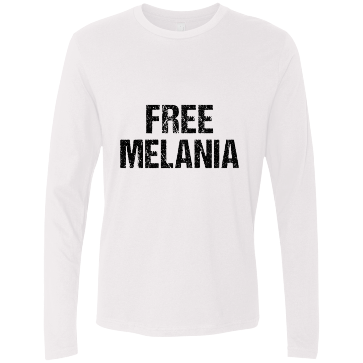 Free Melania Men's Long Sleeve Tee
