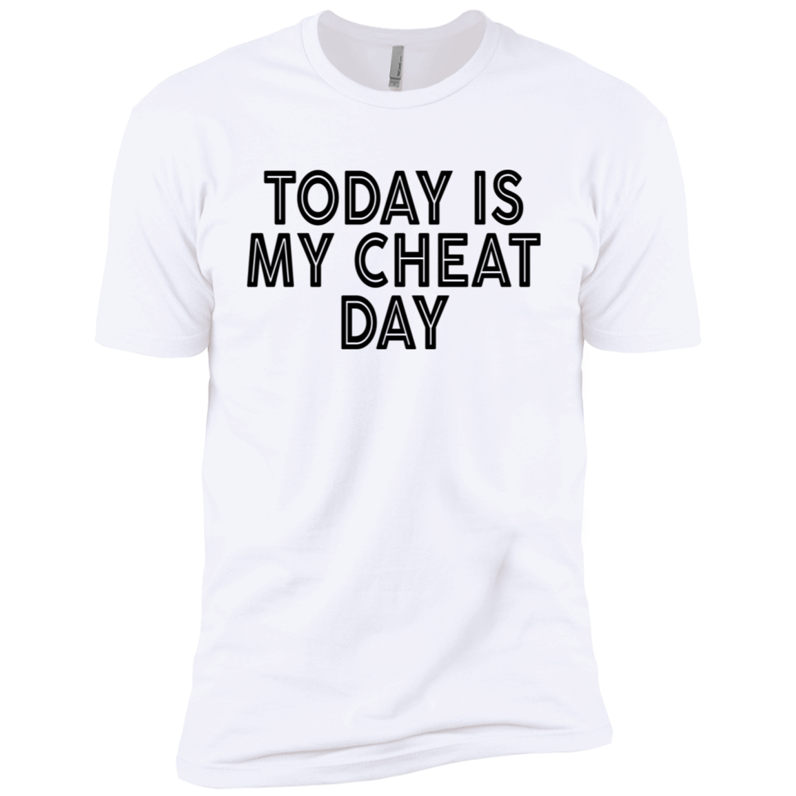 Today Is My Cheat Day Men's Classic Tee