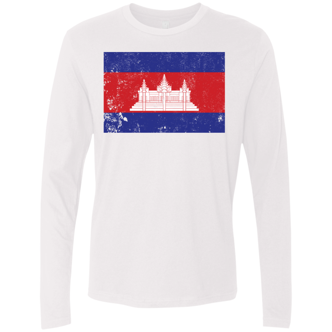 Cambodia Men's Long Sleeve Tee