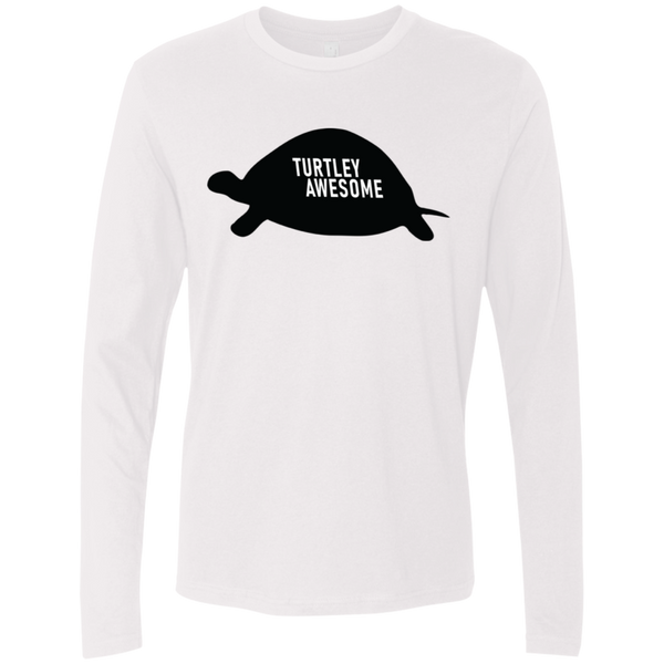 Turtley Awesome Men's Long Sleeve Tee