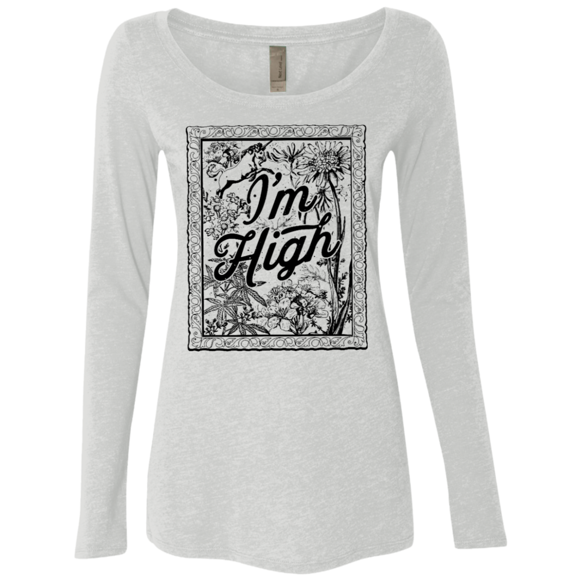 I'm High Women's Long Sleeve Tee