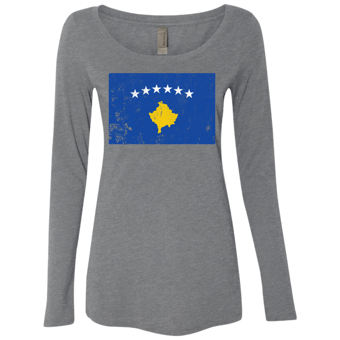 Kosovo Women's Long Sleeve Tee