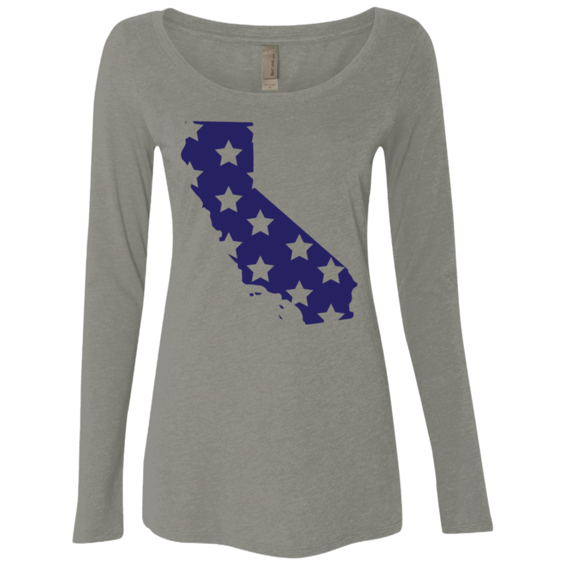 California Stars Women's Long Sleeve Tee