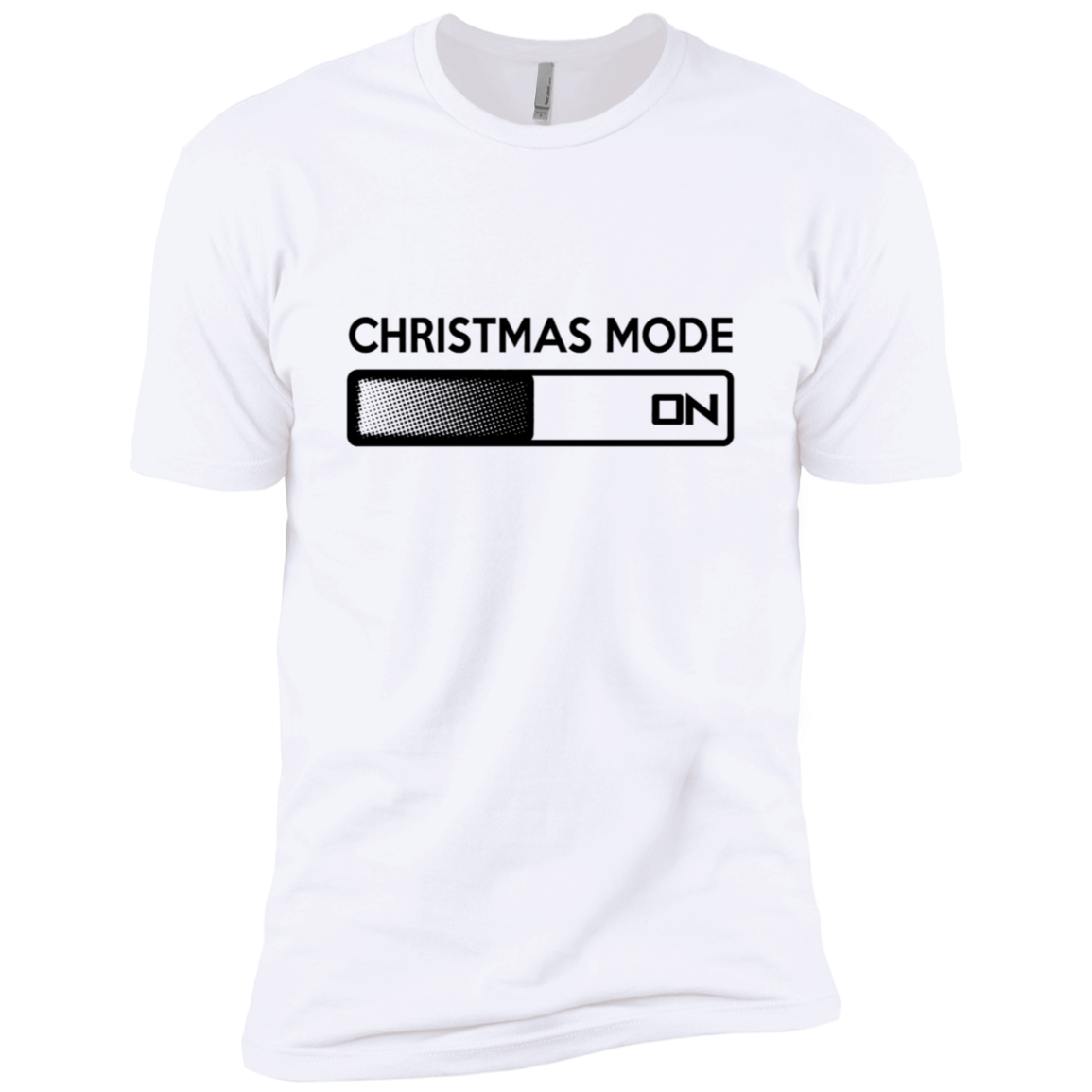 Christmas Mode On Men's Classic Tee