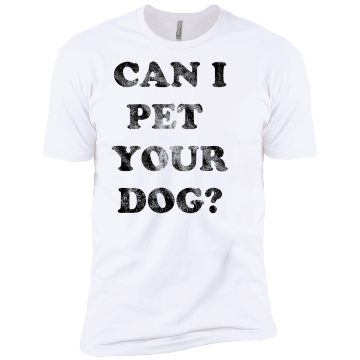 Can I Pet Your Dog Men's Classic Tee - Trendy Tees