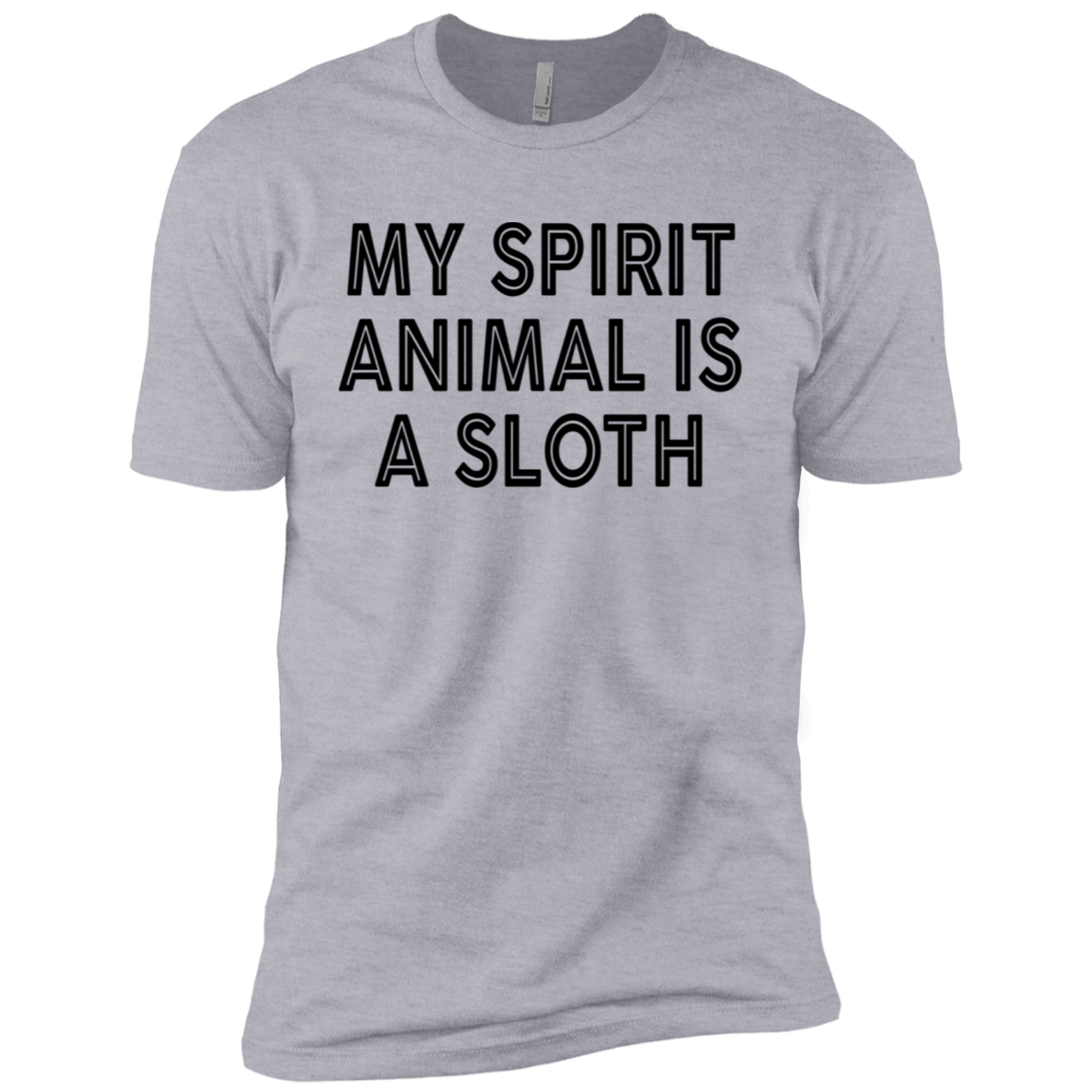 Any Spirit Animal Is A Sloth Men's Classic Tee