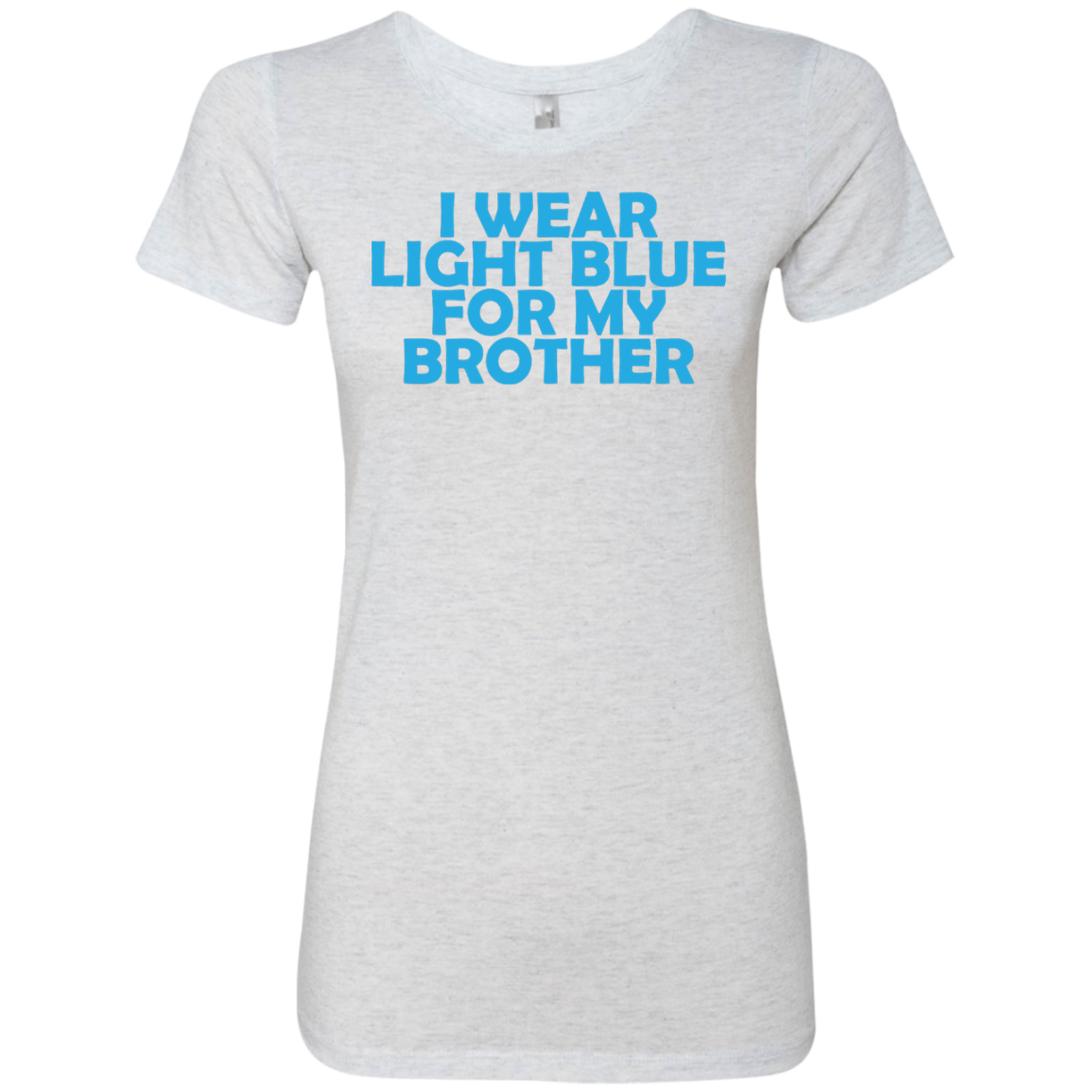 I Wear Light Blue For My Brother Women's Classic Tee