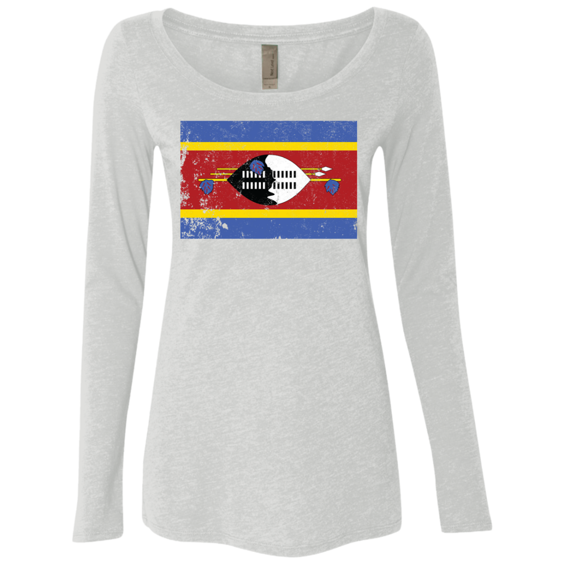 south africa–swaziland border Women's Long Sleeve Tee