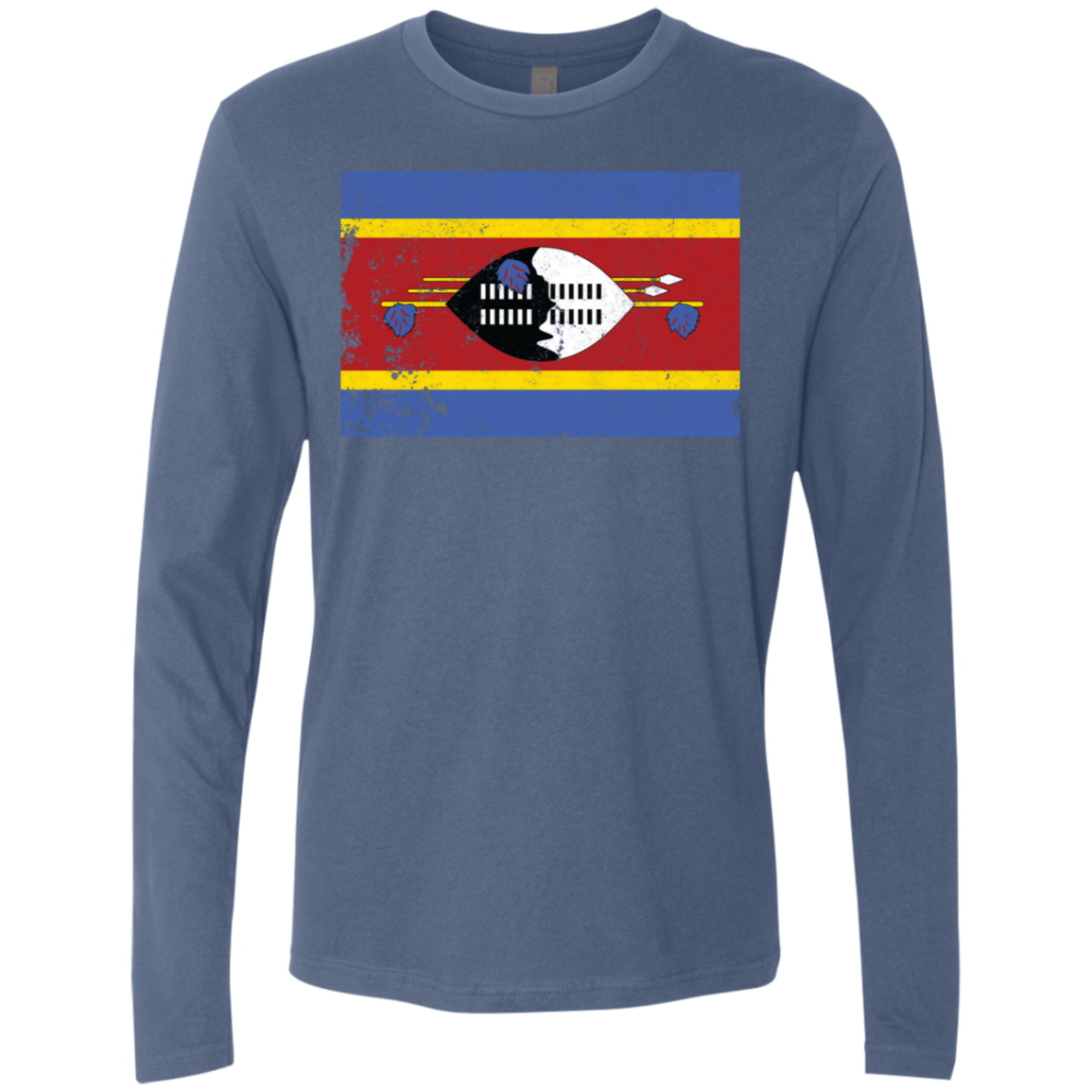 south africa–swaziland border Men's Long Sleeve Tee