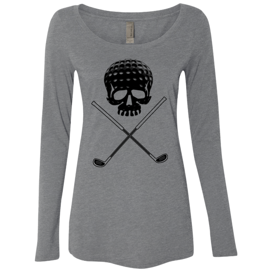 Golf Skull Women's Long Sleeve Tee