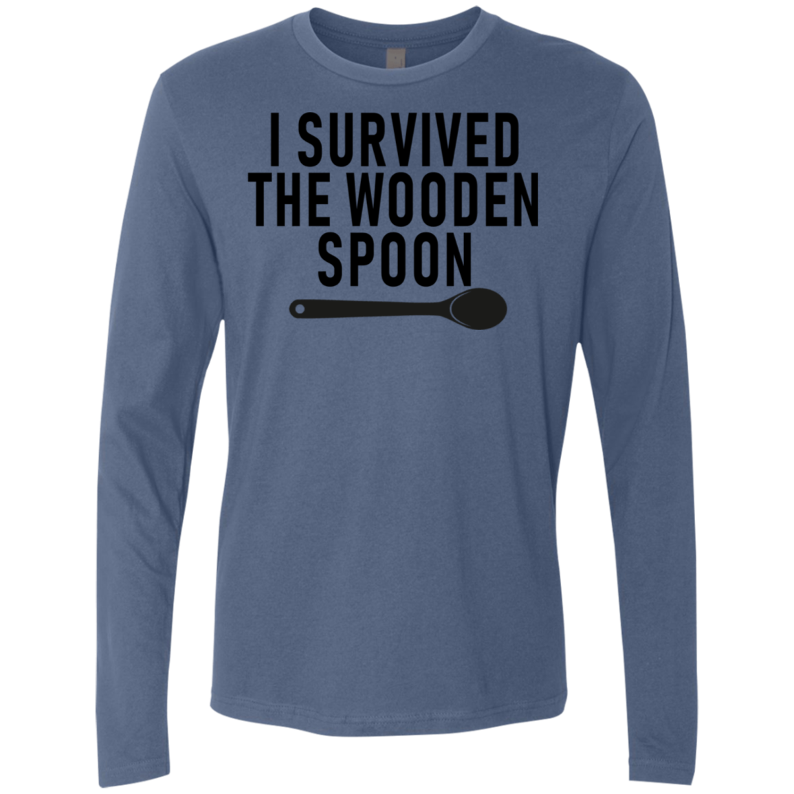 I Survived The Wooden Spoon Men's Long Sleeve Tee