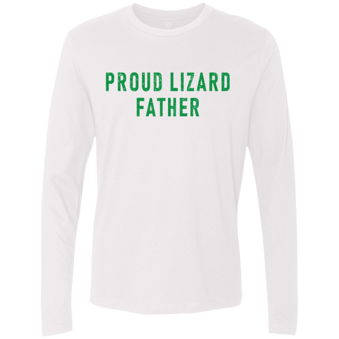 Proud Lizard Father Men's Long Sleeve Tee