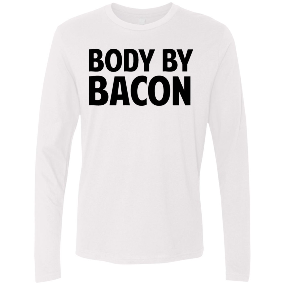 Body by Bacon Men's Long Sleeve Tee