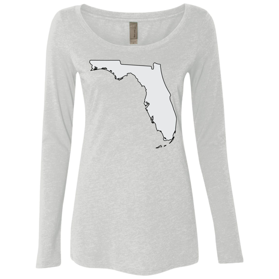 Florida Grey Women's Long Sleeve Tee