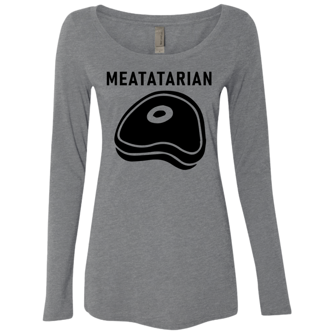 Meatatarian Women's Long Sleeve Tee