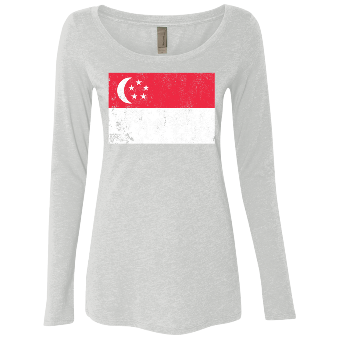 Singapore Women's Long Sleeve Tee