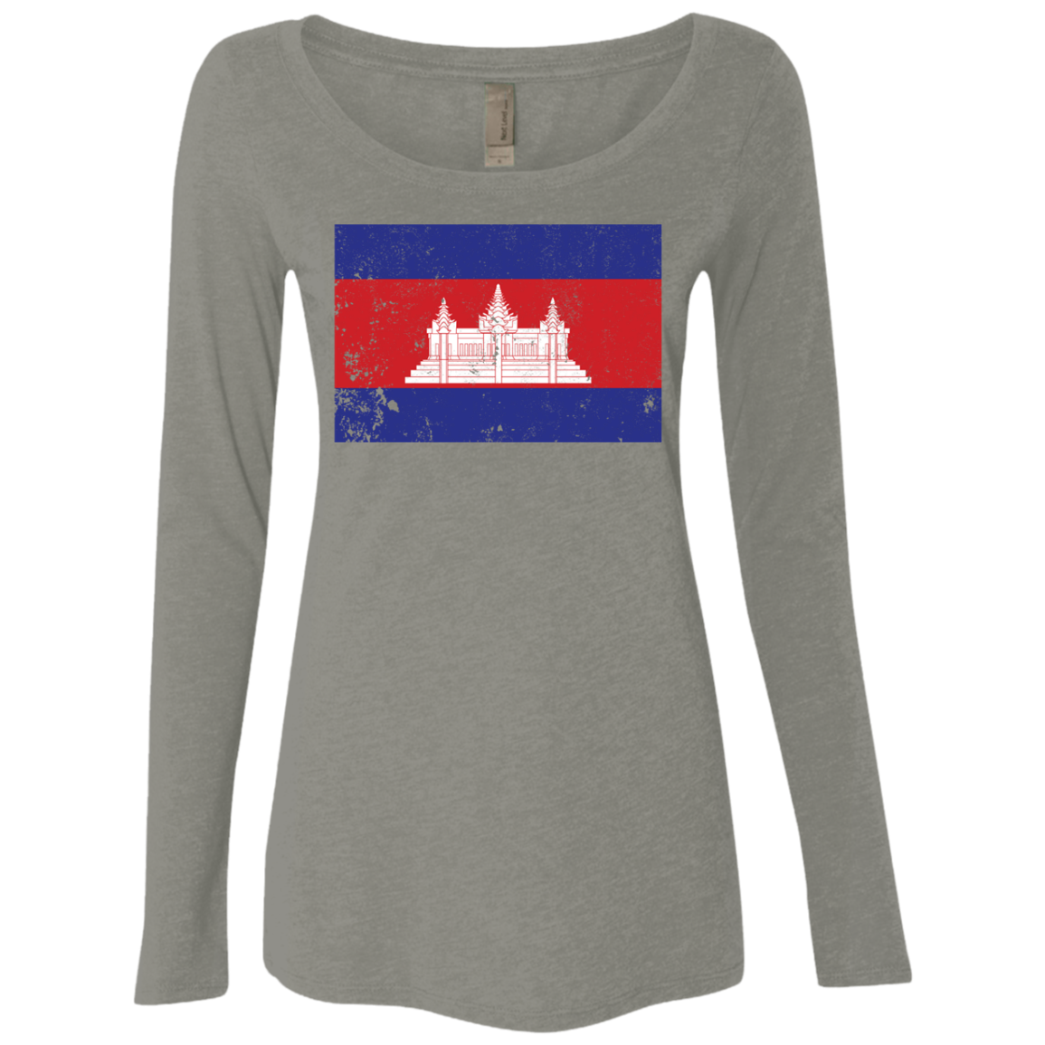 Cambodia Women's Long Sleeve Tee